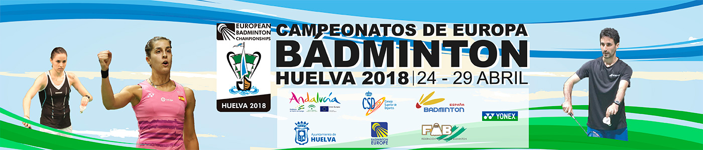 Campeonatos Europa Badminton