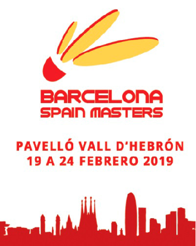 BARCELONA SPAIN MASTERS BADMINTÓN