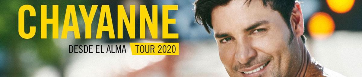 Conciertos Chayanne 2020