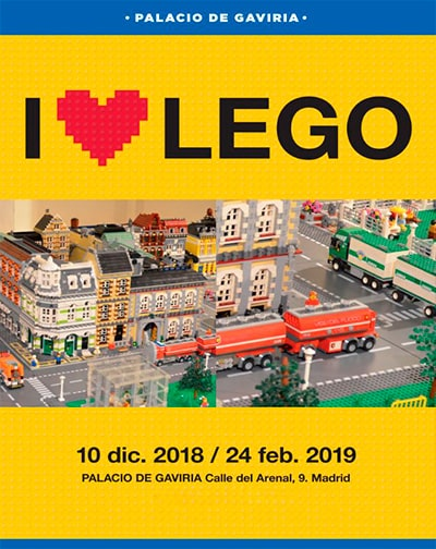 Entradas I love Lego en Madrid