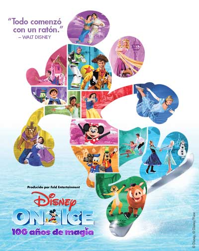 Disney on Ice, 100 años de magia