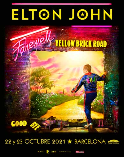 Elton John - Farewell Yellow Brick Road - 1º FECHA