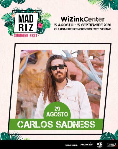 Carlos Sadness - Madriz Summer Fest