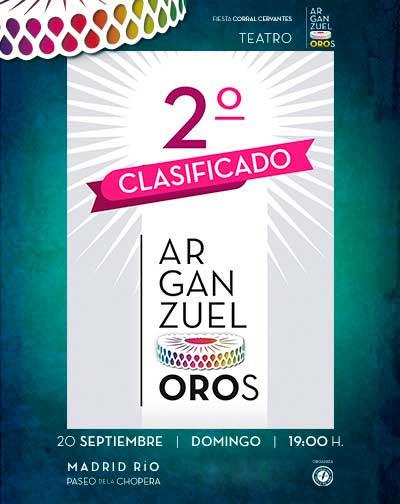 TÍTULO ESPECTÁCULO: 2º premio Concurso ArganzuelOROS
