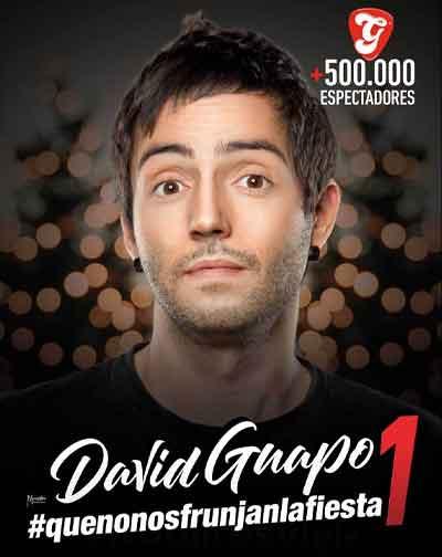 David Guapo Que No Nos Frunjan La Fiesta En Madrid Entradas El Corte Inglés
